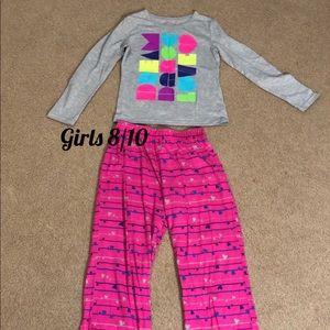 Girls 8/10 Xhilaration Pajama Set